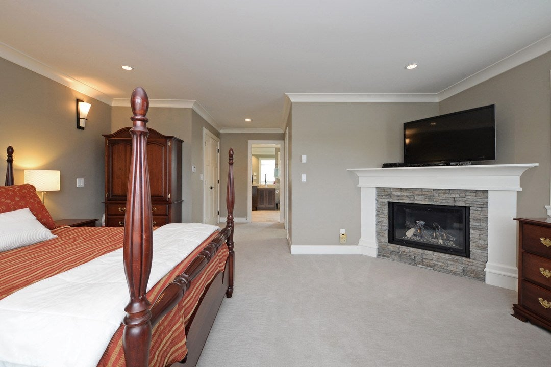 Master Bedroom Fireplace - 17350 3A Ave