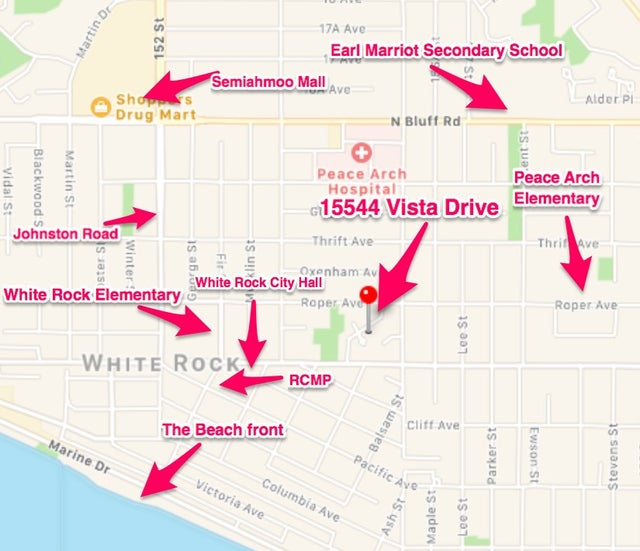 Life Style Map - 15544 Vista Drive